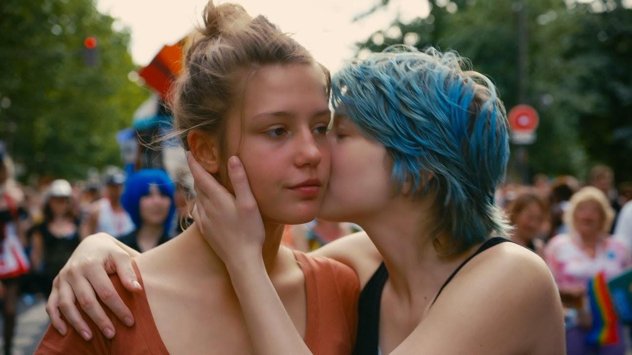 blå är den varmaste färgen sexscener